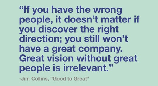 Jim Collins Quote, Good to Great
