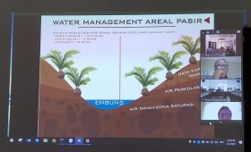 Water Management Areal Pasir