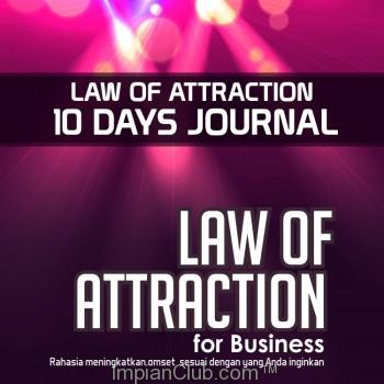 "Law Of Attraction for Business ""10 Days Journal"""