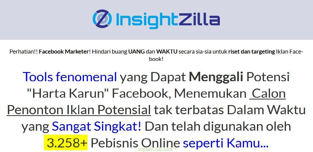 InsightZilla : Tools Fenomenal Facebook