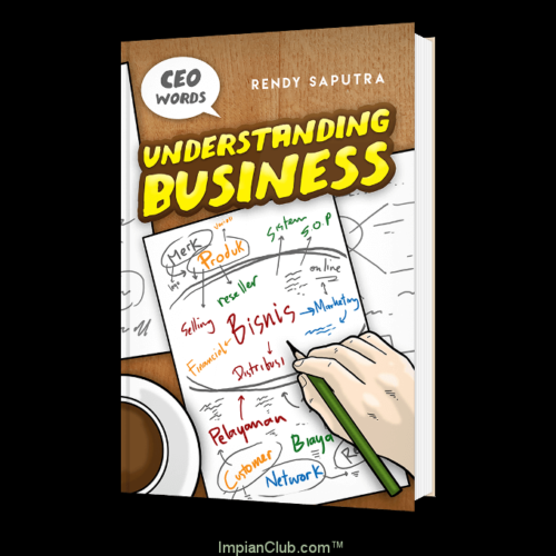 Cover Buku Understanding Business, Rendy Saputra