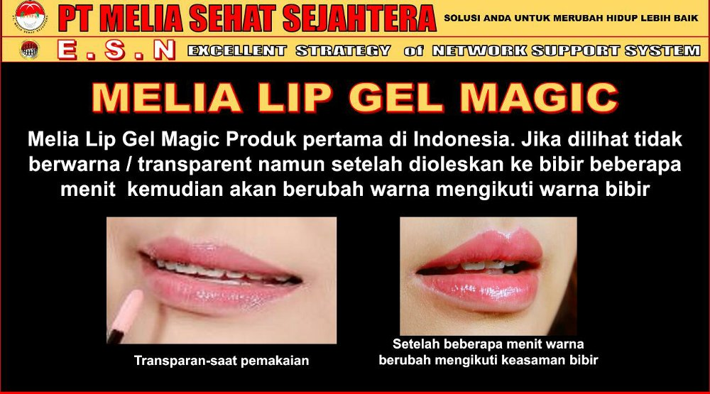 Manfaat Melia Lip Gel Magic