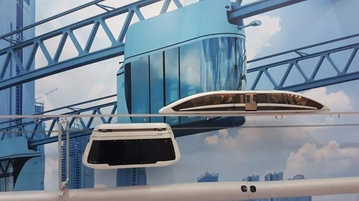 Transportasi SkyWay, Riil String Transportation