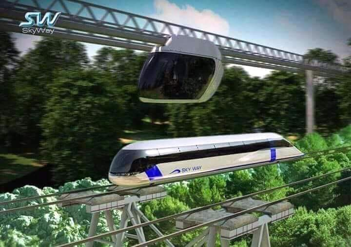 Transportasi Masa Depan, SkyWay