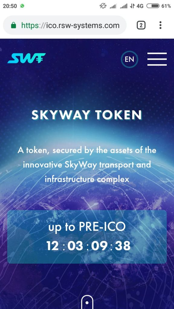 SkyWay Token