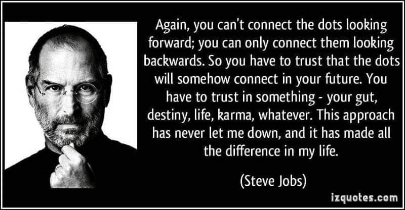 Connecting The Dot, Steve Jobs Apple