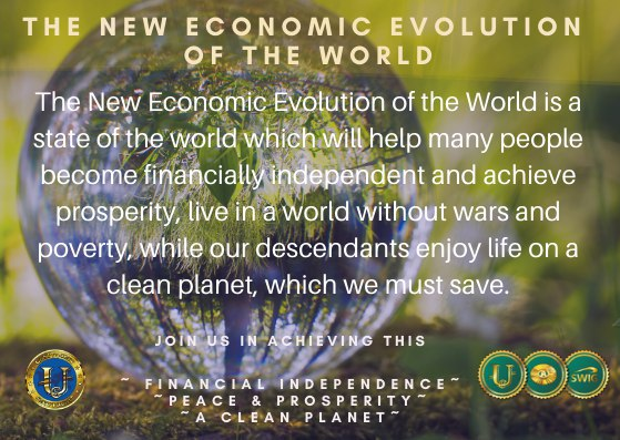 NEEW, The New Economic Evolution of The World