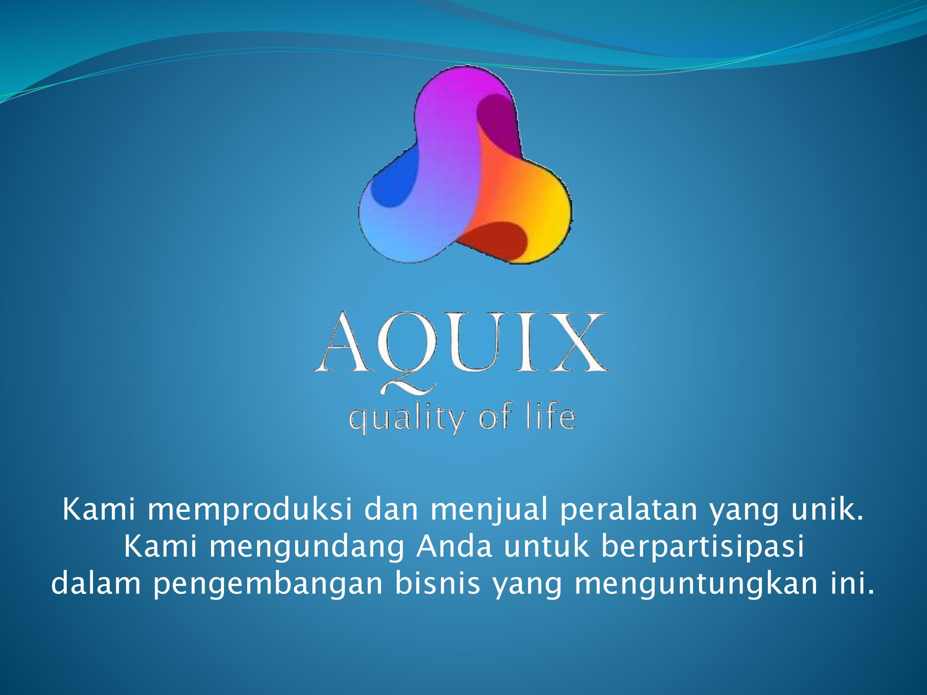 AQUIX Quality of Life