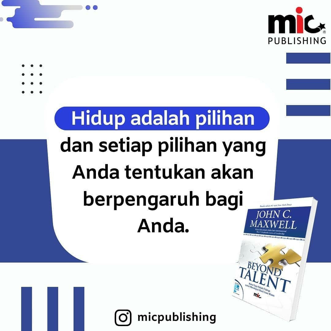 Buku Beyond Talent, John C MaxWell