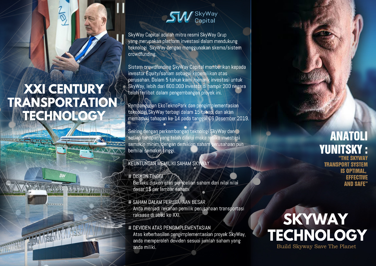 SkyWay, XXI Century Transportation Technology
