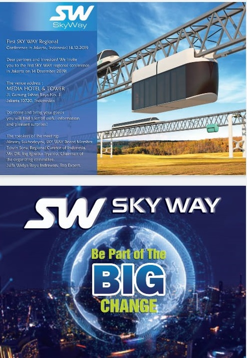 SkyWay, be part of the BIG change