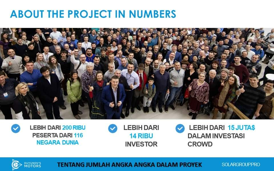 SolarGroup, About The Project in Numbers